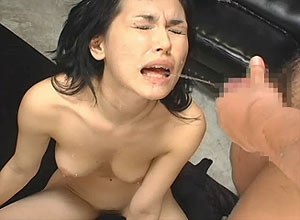 Mature forced to swallow cum