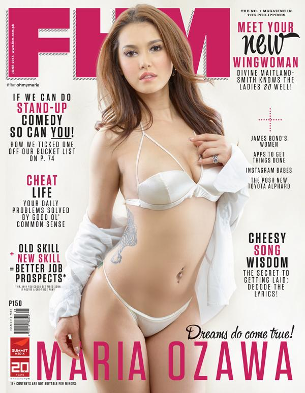 Fhm cover girls nude